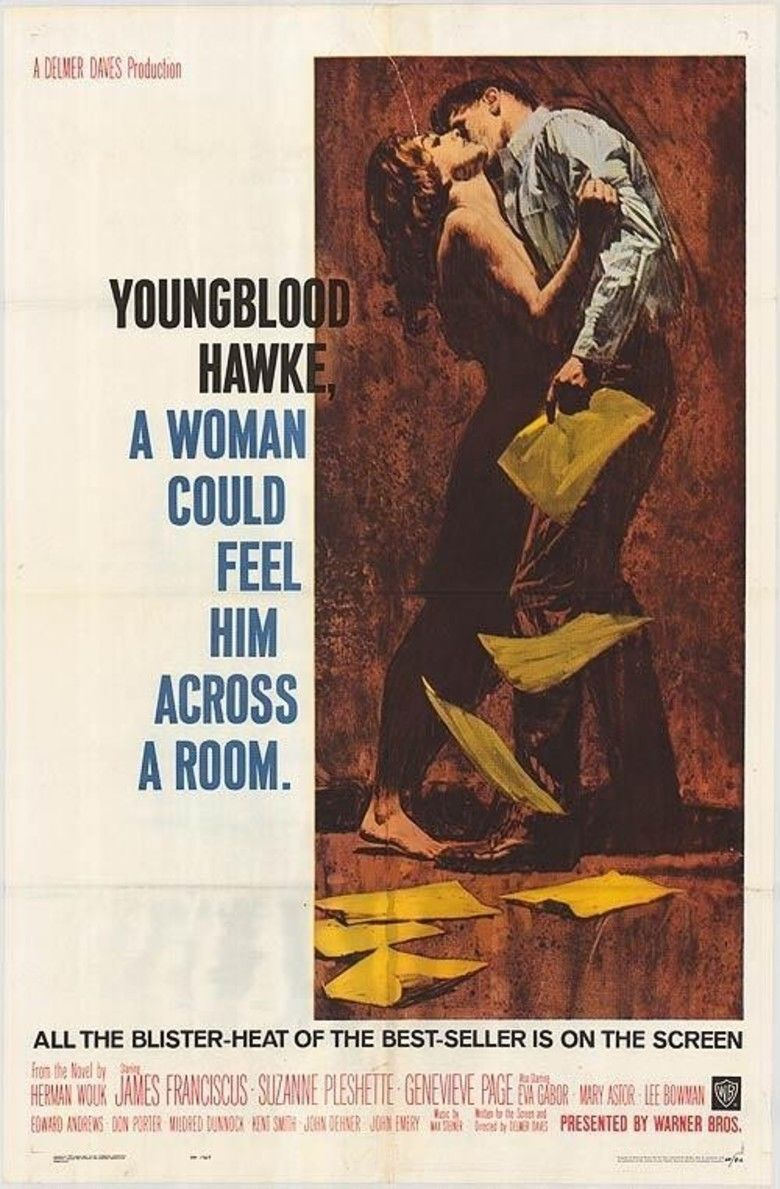 Youngblood Hawke (1964 film) movie poster
