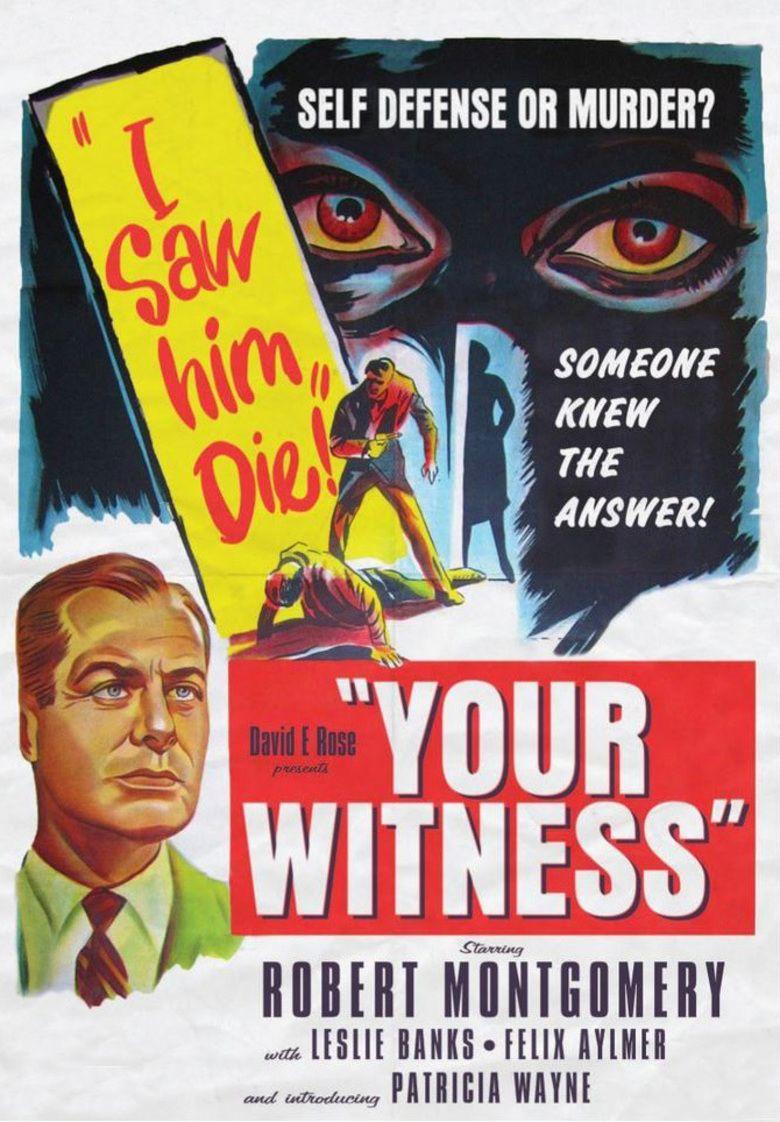 Your Witness (film) movie poster