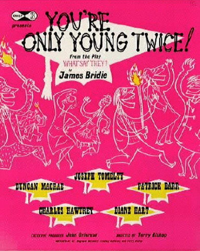 Youre Only Young Twice (film) movie poster