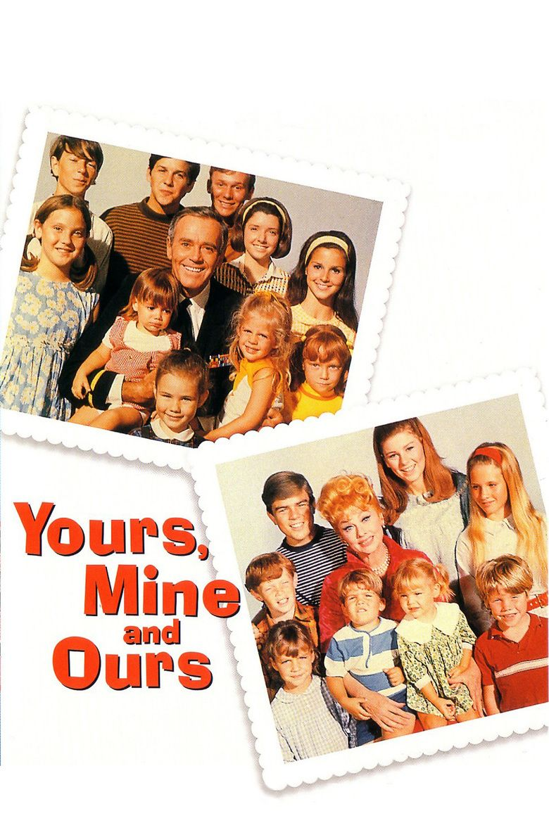 Yours, Mine and Ours (1968 film) movie poster