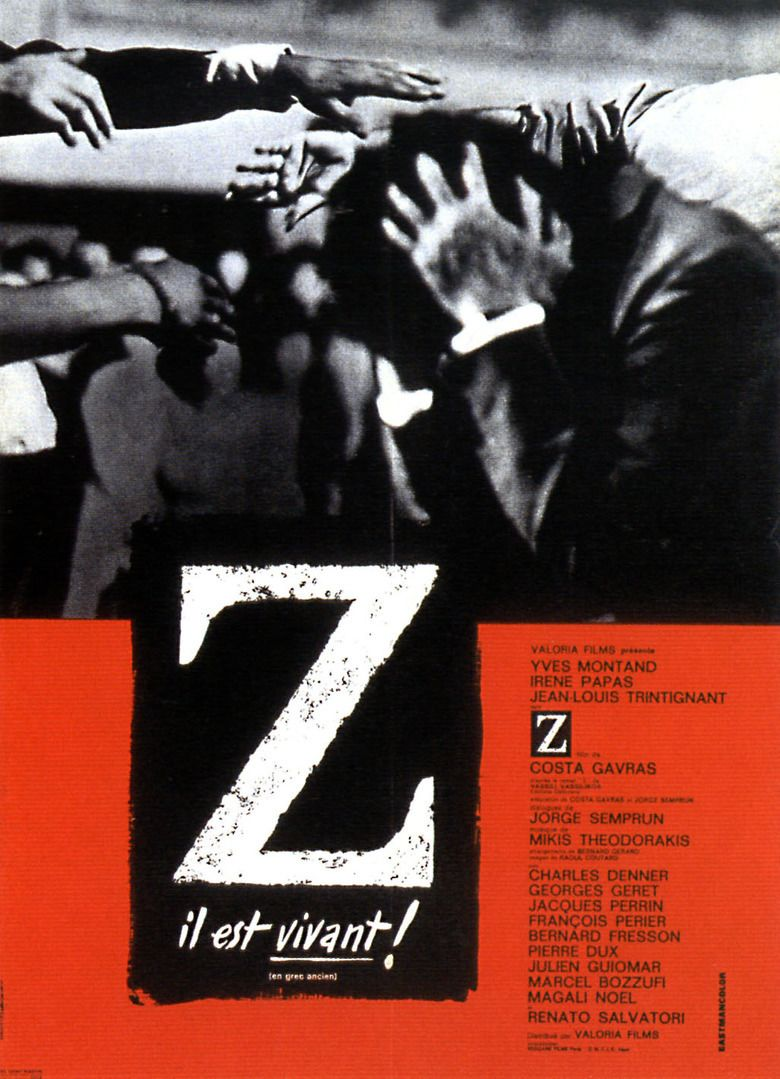 Z (1969 film) movie poster