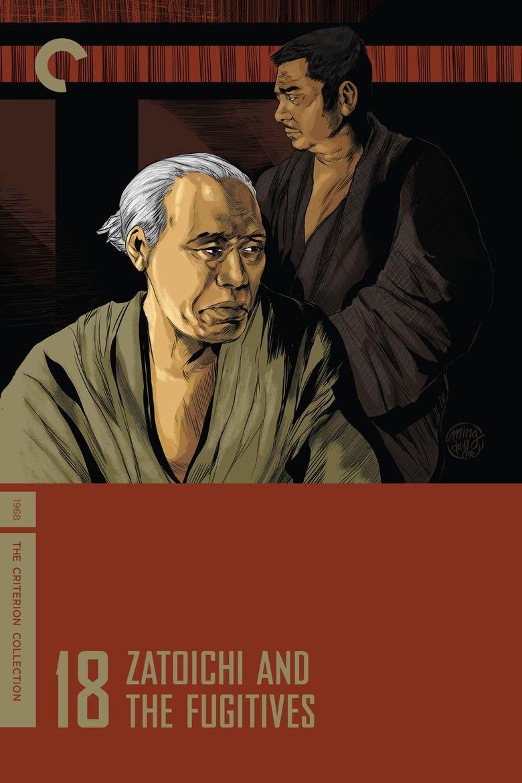 Zatoichi and the Fugitives movie poster