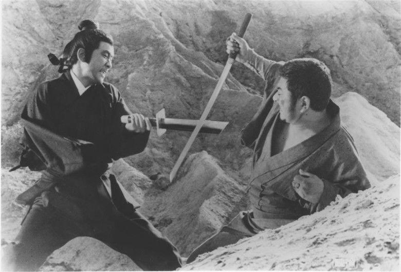 Zatoichi and the One Armed Swordsman movie scenes