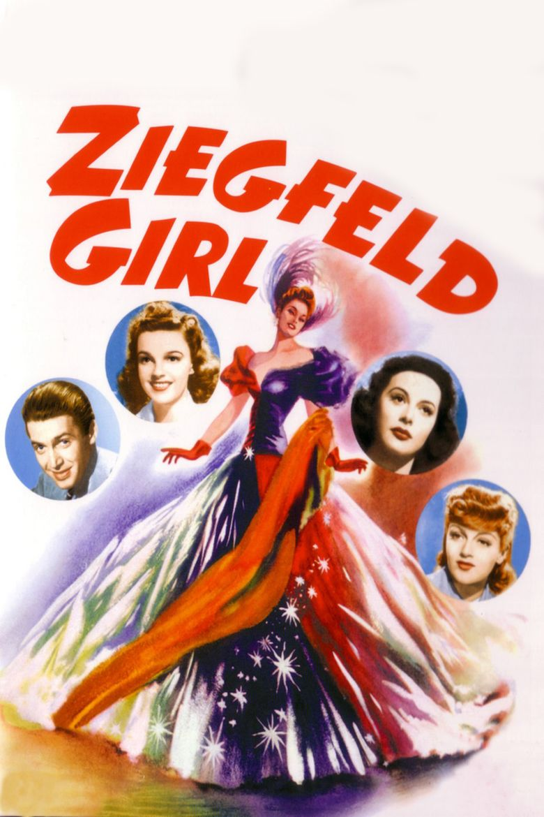 Ziegfeld Girl (film) movie poster