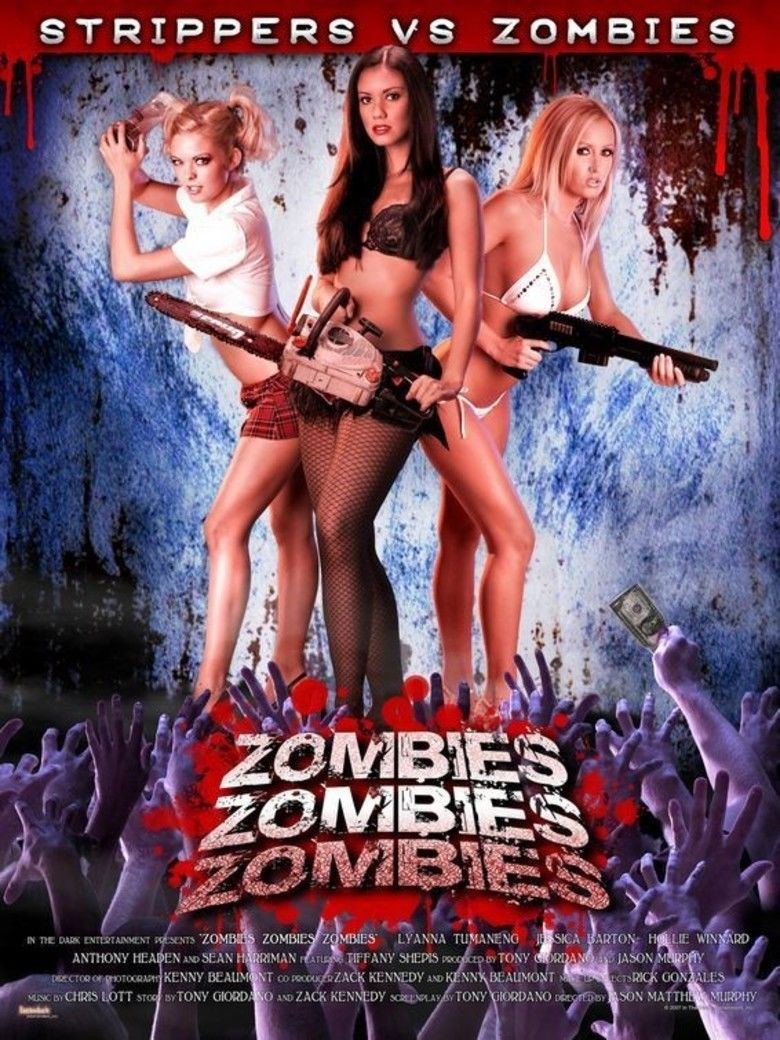 Zombies! Zombies! Zombies! movie poster
