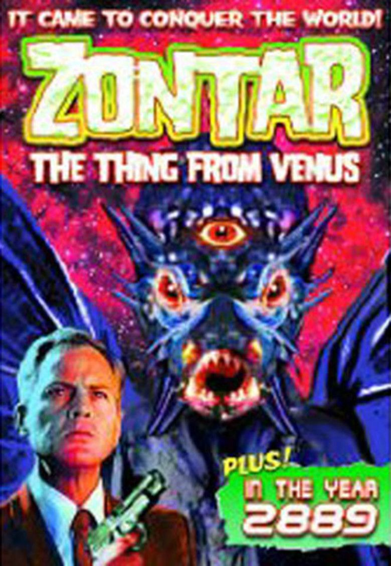 Zontar, the Thing from Venus movie poster