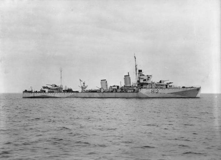 A- and B-class destroyer