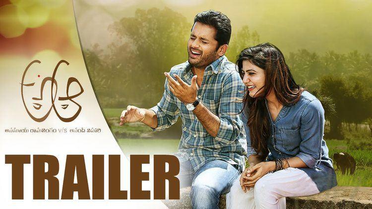 A Aa A Aa Official Trailer Nithiin Samantha Trivikram Srinivas