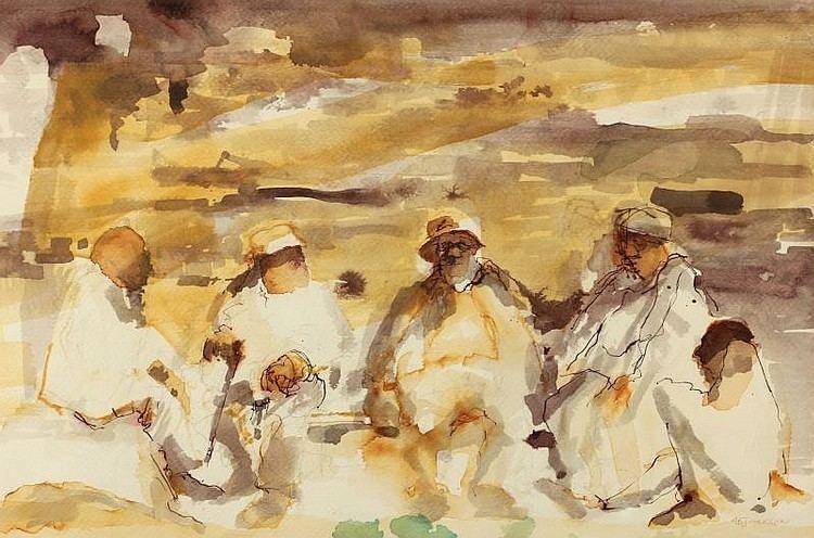 A. B. Jackson (painter) httpsimageinvaluablecomhousePhotosLelandLit