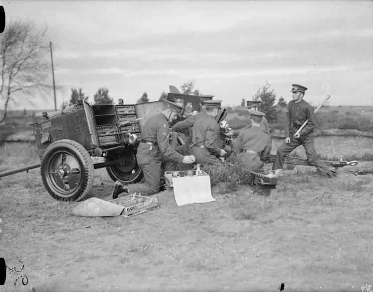 A Battery (The Chestnut Troop) Royal Horse Artillery