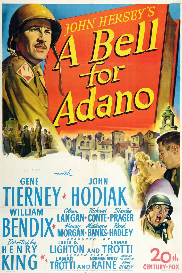 A Bell for Adano wwwgstaticcomtvthumbmovieposters6249p6249p