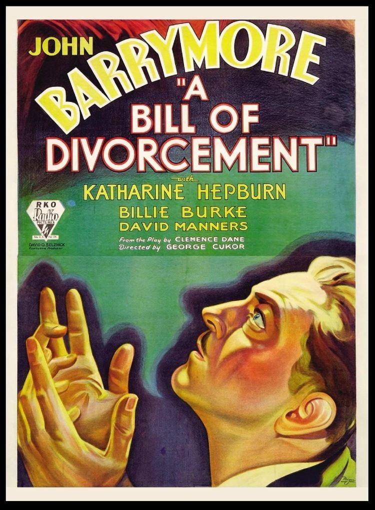 A Bill of Divorcement (1932 film) A Bill of Divorcement 1932 bonjourtristessenet