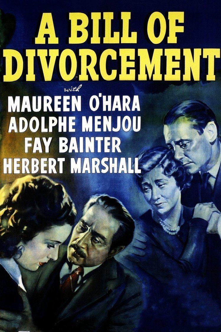 A Bill of Divorcement (1940 film) wwwgstaticcomtvthumbmovieposters90899p90899