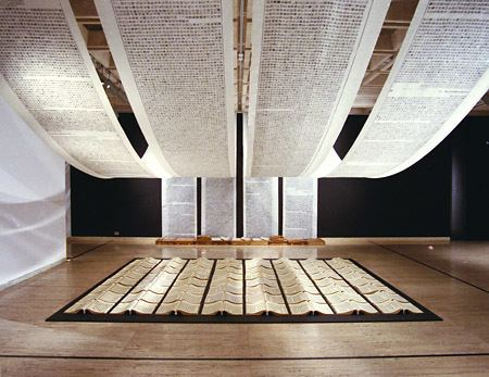 A Book from the Sky On View Now Back to the Future Xu Bing The Living Word and
