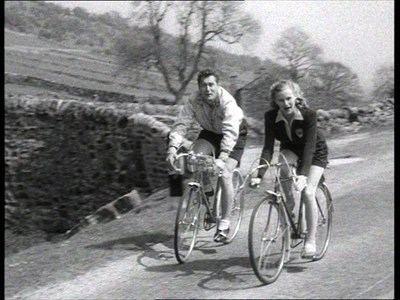 A Boy, a Girl and a Bike Top Farm Bridge Yockenthwaite N Yorks UK A Boy A Girl And A