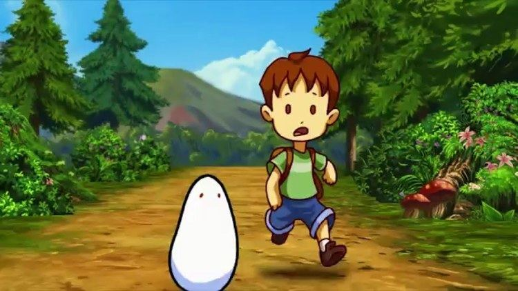 A Boy and His Blob A Boy and His Blob Trailer YouTube