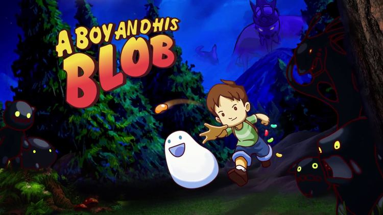 A Boy and His Blob 1 A Boy And His Blob HD Wallpapers Backgrounds Wallpaper Abyss