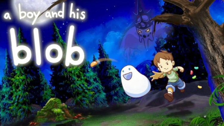 A Boy and His Blob A Boy and His Blob Gameplay PC YouTube