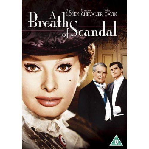 A Breath of Scandal Sophia Loren A Breath Of Scandal 1960 UK Movie Dvd In Stock