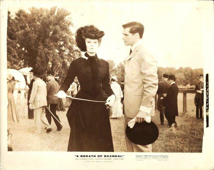 A Breath of Scandal SOPHIA LOREN JOHN GAVIN A Breath of Scandal Or1960 eBay