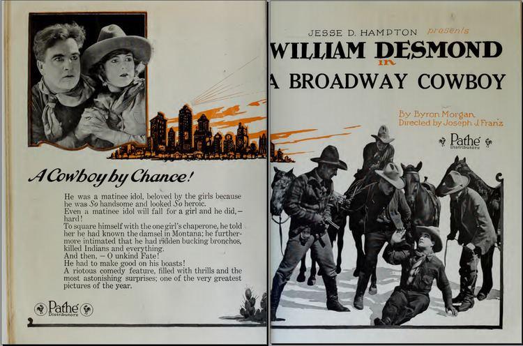 A Broadway Cowboy