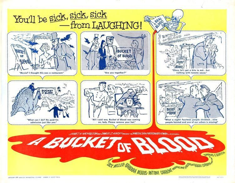 A Bucket of Blood Revisiting the 1959 Roger Corman Classic A BUCKET OF BLOOD