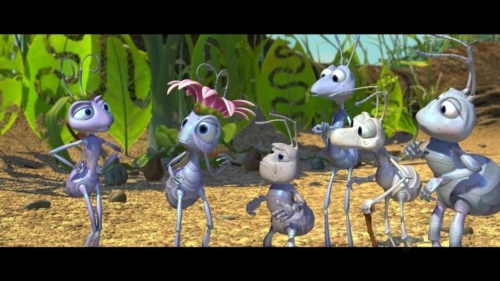 A Bugs Life movie scenes A Bug s Life is no ordinary animated film and Disney s DTS HD Master Audio 5 1 surround track is no ordinary lossless presentation