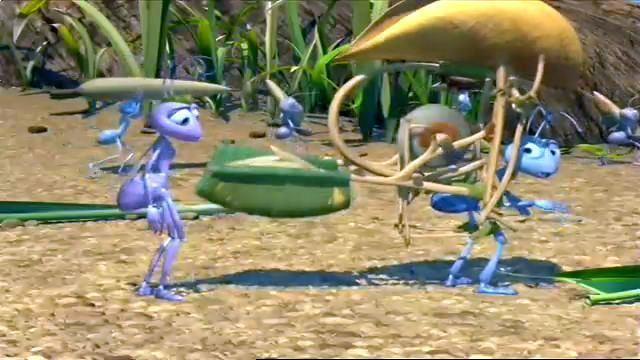A Bugs Life movie scenes Watch A Bug s Life 1 Flik Machine Seed to Tree