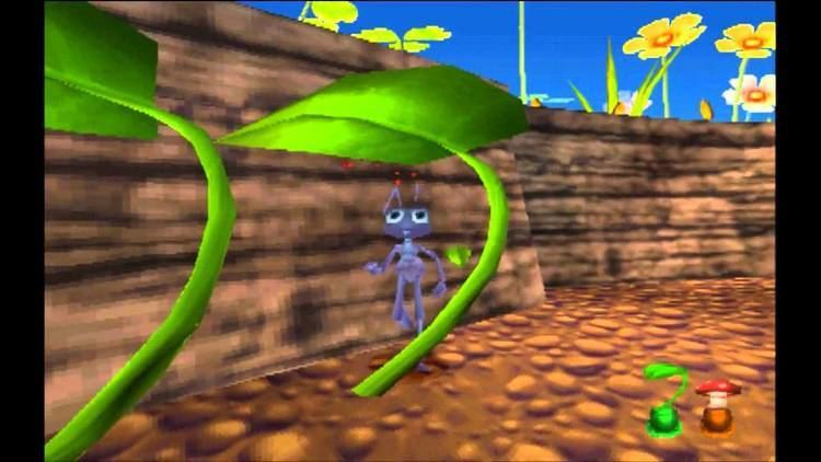 A Bug's Life (video game) A Bugs Life Game Part 1 Anthill YouTube