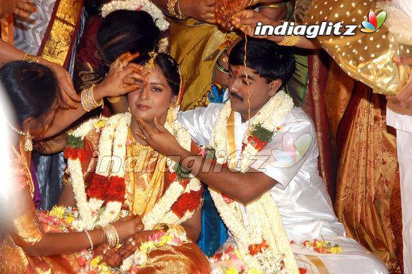 A. C. Shanmugam AC Shanmugams sons grand wedding Tamil Actress Gallery