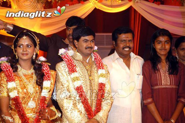 A. C. Shanmugam Events AC Shanmugams sons grand wedding Movie Trailer Launch