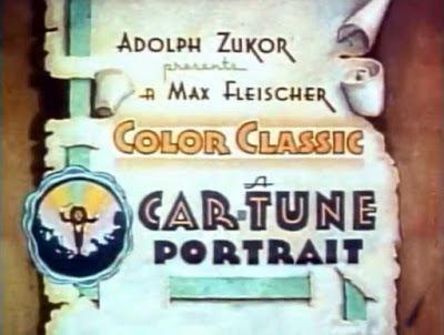 A Car-Tune Portrait 13 A CARTUNE PORTRAIT Fleischer Studios 1937