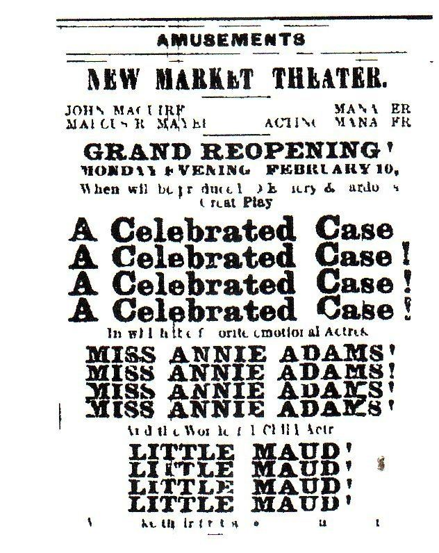 A Celebrated Case Maude AdamsA Celebrated Case