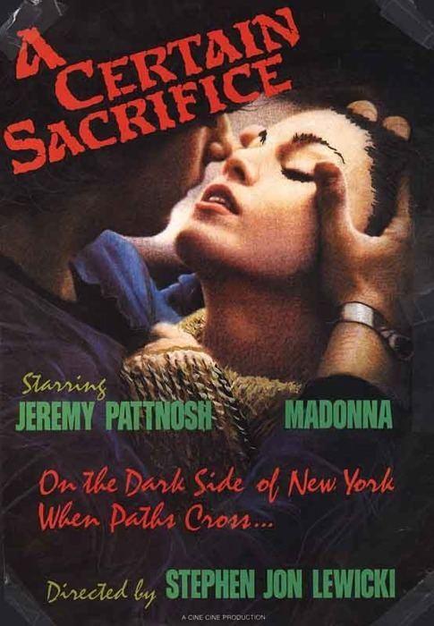A Certain Sacrifice Madonna Movie Day A Certain Sacrifice 1985 MadonnaGlam