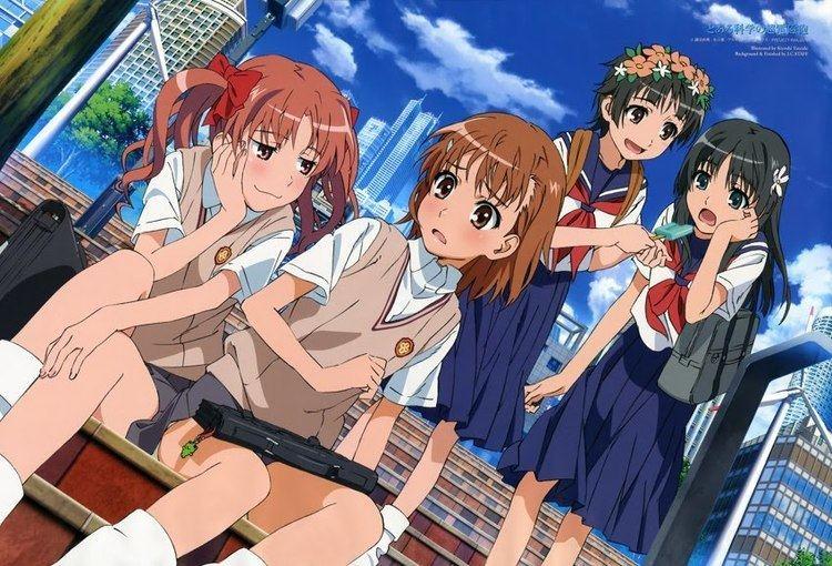 A Certain Scientific Railgun Secret Santa Review A Certain Scientific Railgun 70 Anime Diet