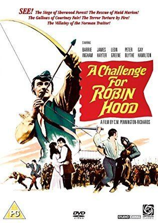 A Challenge for Robin Hood A Challenge For Robin Hood DVD Amazoncouk Barrie Ingham Peter