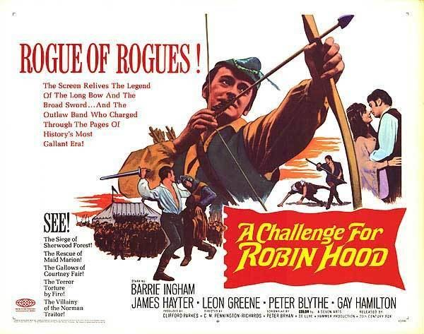 A Challenge for Robin Hood Challenge for Robin Hood movie posters at movie poster warehouse