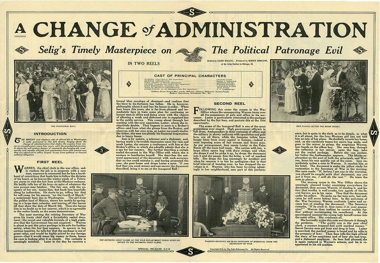 A Change of Administration
