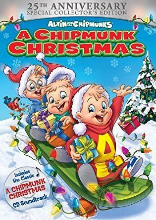 A Chipmunk Christmas Amazoncom Alvin and the Chipmunks A Chipmunk Christmas 25th
