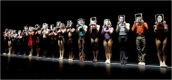 A Chorus Line A Chorus Line Review Theater The New York Times
