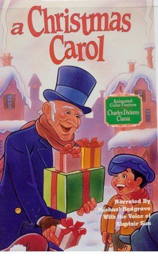 A Christmas Carol (1971 film) Amazoncom A Christmas Carol animated 1971 Alistair Sim Chuck