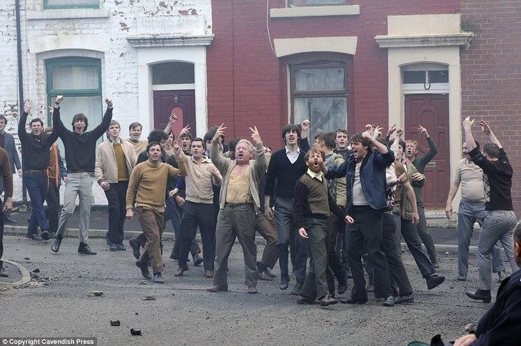 A Citys Child movie scenes The Troubles Actors film a scene in this back street in Blackburn which became the