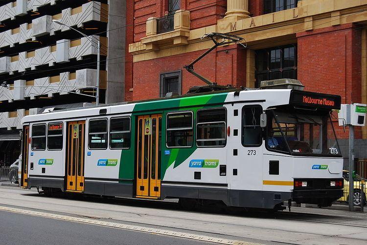 A-class Melbourne tram