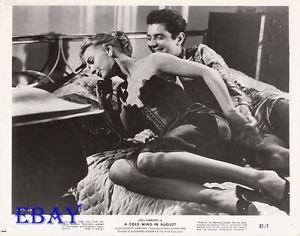 A Cold Wind in August Lola Albright leggy VINTAGE Photo A Cold Wind In August eBay