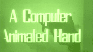 A Computer Animated Hand movie poster
