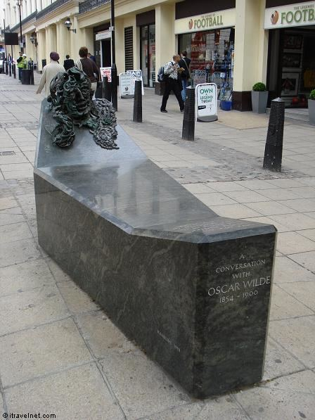 A Conversation with Oscar Wilde A Conversation With Oscar Wilde Photo London England UK travel