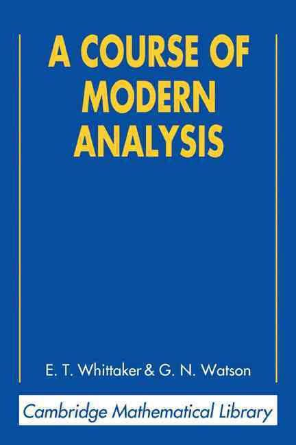 A Course of Modern Analysis t1gstaticcomimagesqtbnANd9GcRUMEDHdQgYas018