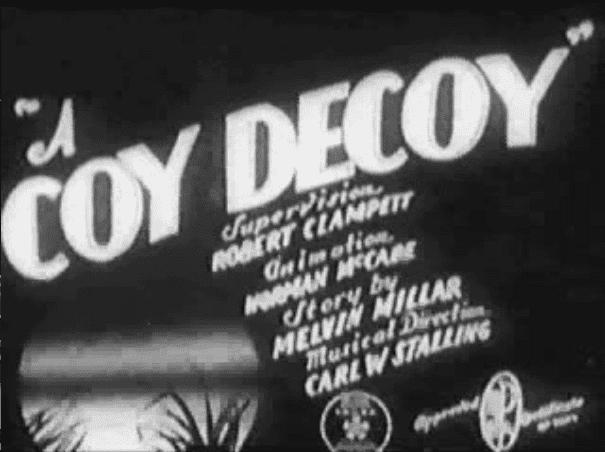 A Coy Decoy movie scenes A Coy Decoy 1941