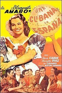 A Cuban in Spain movie poster