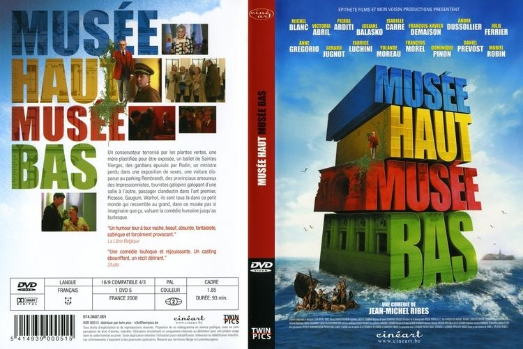 A Day at the Museum Jaquette DVD de Muse haut muse bas Cinma Passion